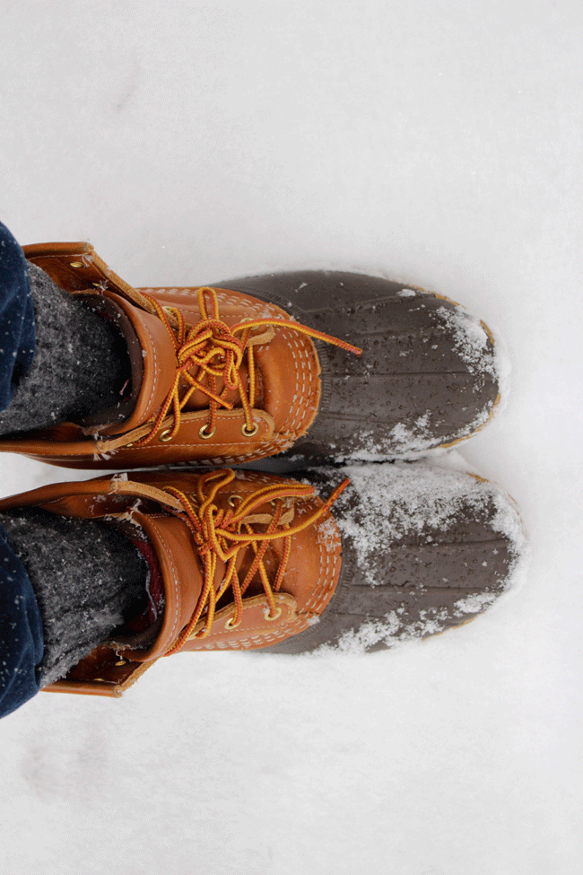 Guide to Buying LL Bean Boots featured by popular Washington DC style blogger, Monica Dutia