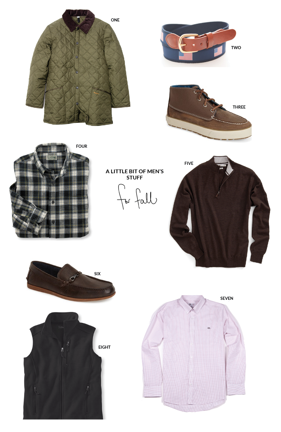 Men's Transitional Items for Fall