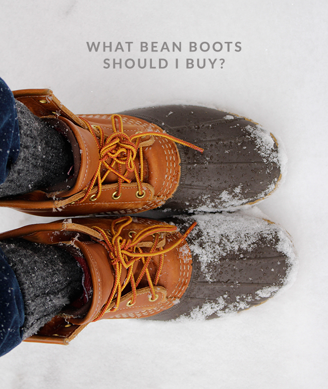 How to Pick Bean Boots