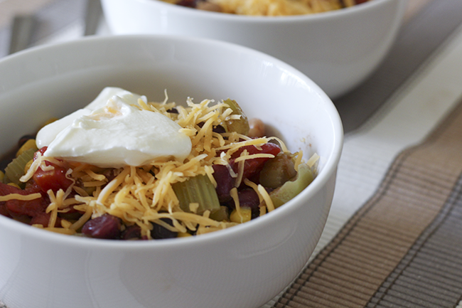 Healthy Vegetarian Chili