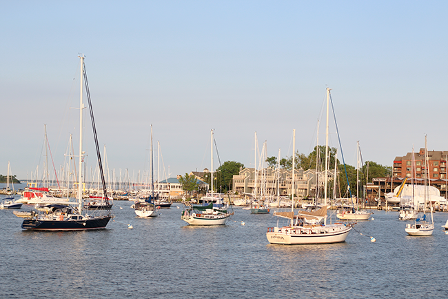 Visiting Annapolis, MD in 24 Hours featured by popular DC travel blogger, Monica Dutia: Annapolis Harbor