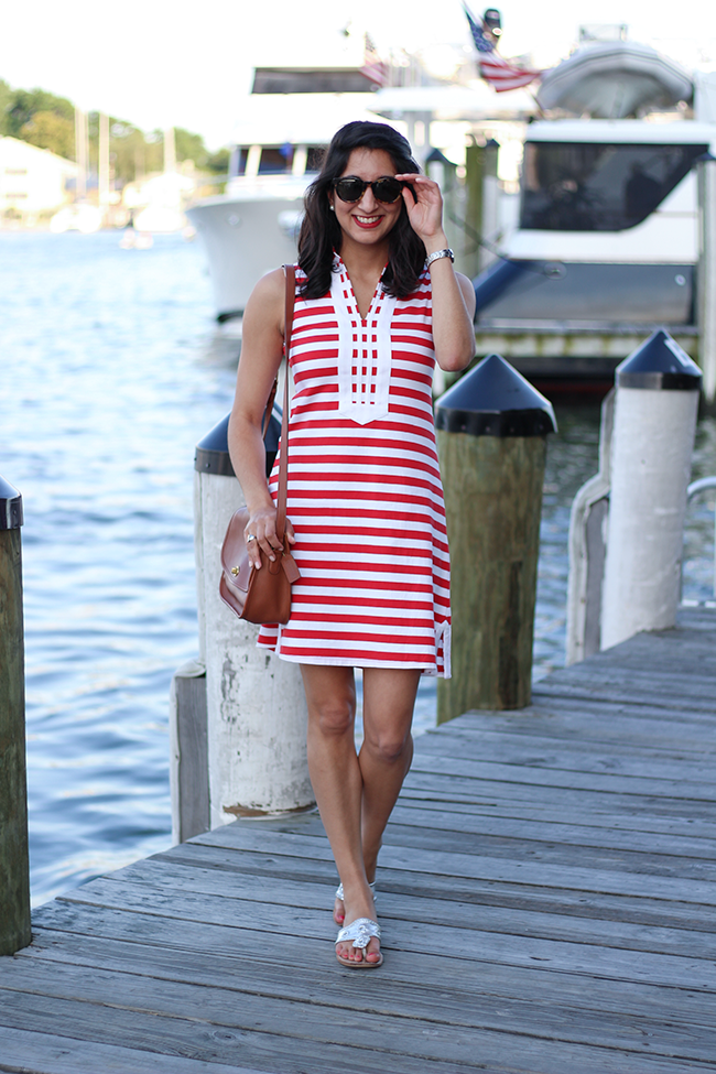 Duffield Lane Striped Dress
