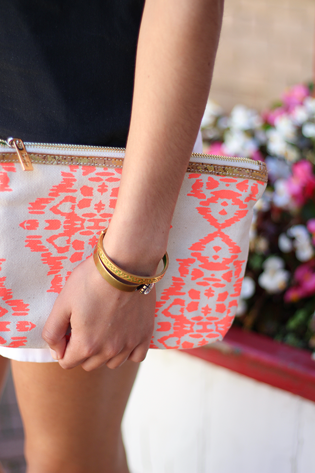Persifor Clutch featured by popular DC fashion blogger, Monica Dutia