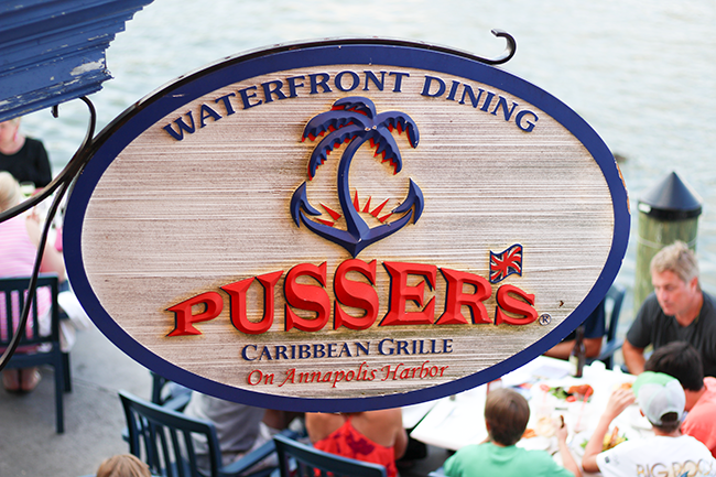 Pusser's Caribbean Grille Visiting Annapolis, MD in 24 Hours featured by popular DC travel blogger, Monica Dutial