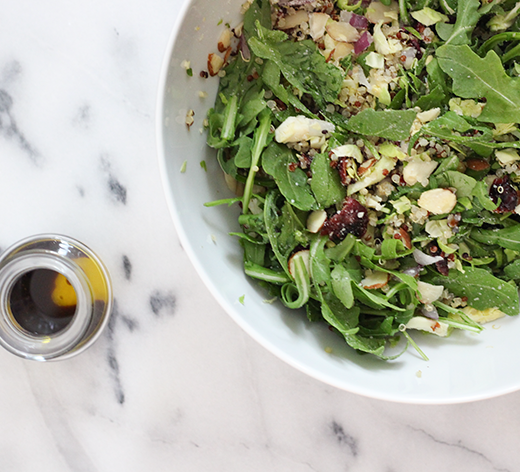 Easy Brussels Sprouts Quinoa Salad