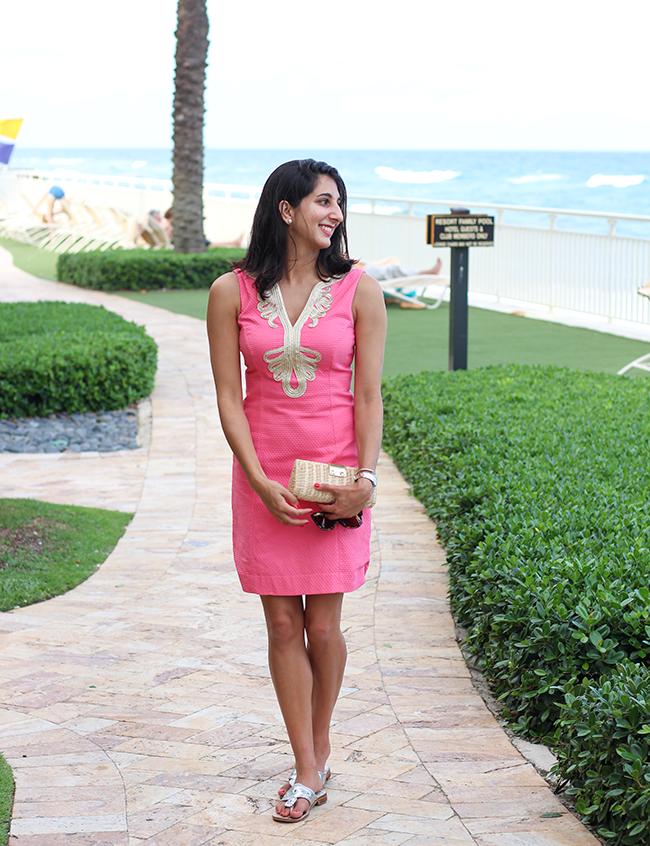 Pink Lilly Dress