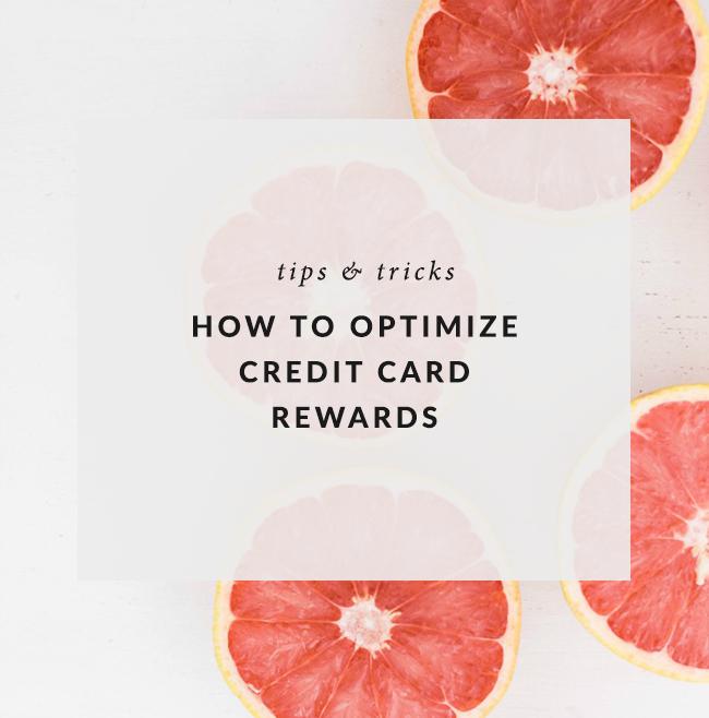 How to Optimize Credit Card Rewards