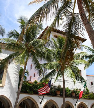 Visiting Palm Beach