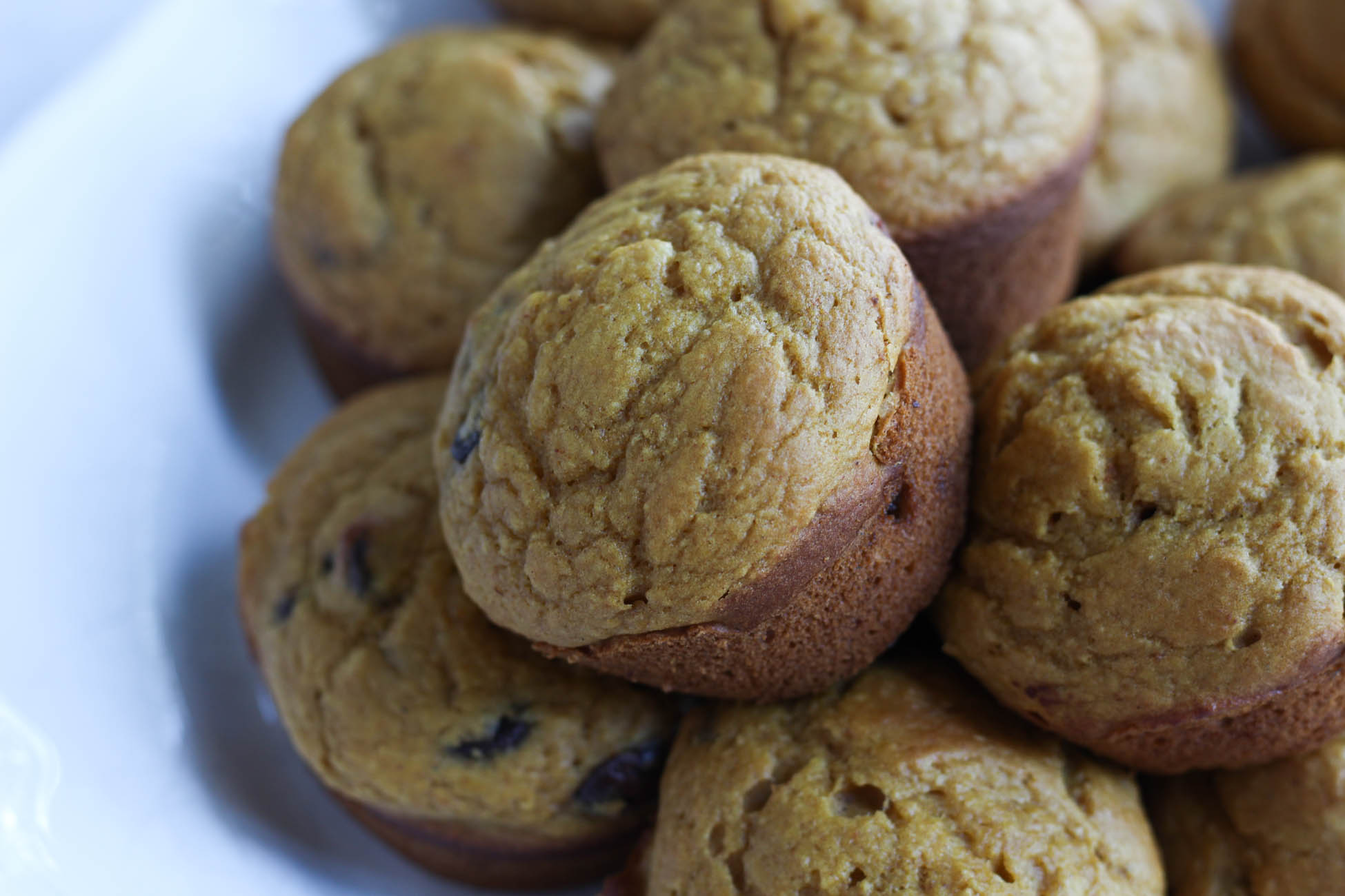 Healthier Chocolate Chip Muffins