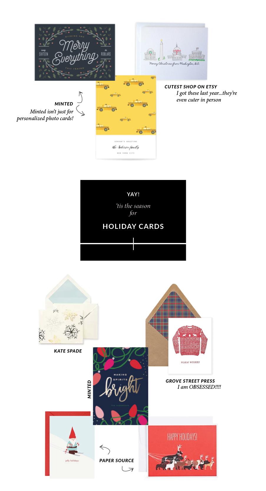 Where to buy holiday cards | Monica Dutia