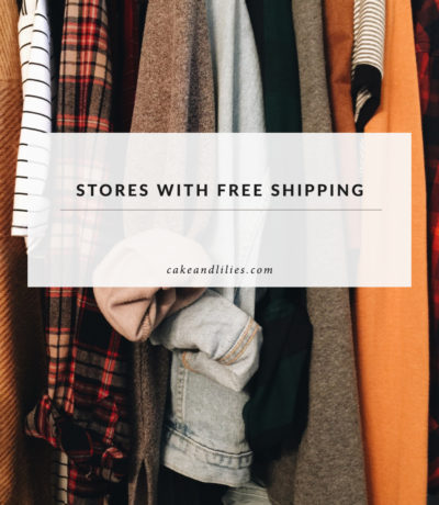 List of stores with free shipping