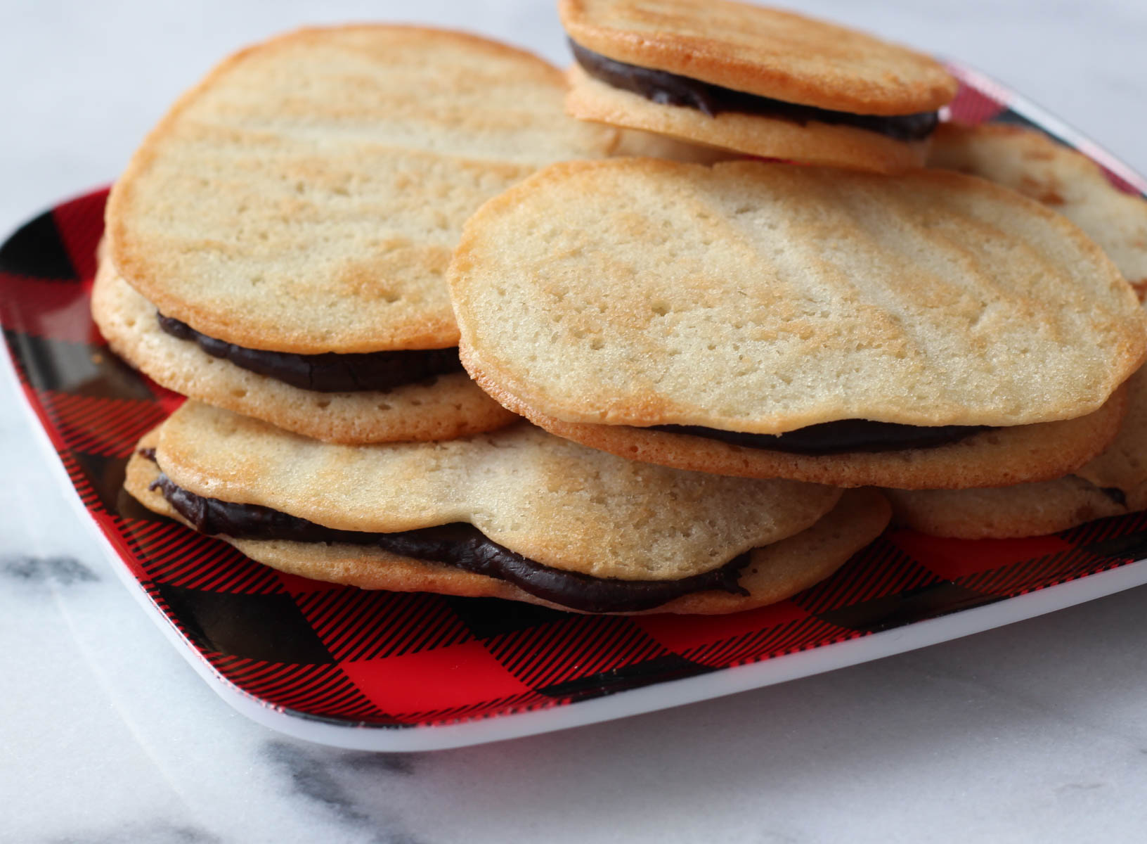 Homemade Peppermint Milano Cookies