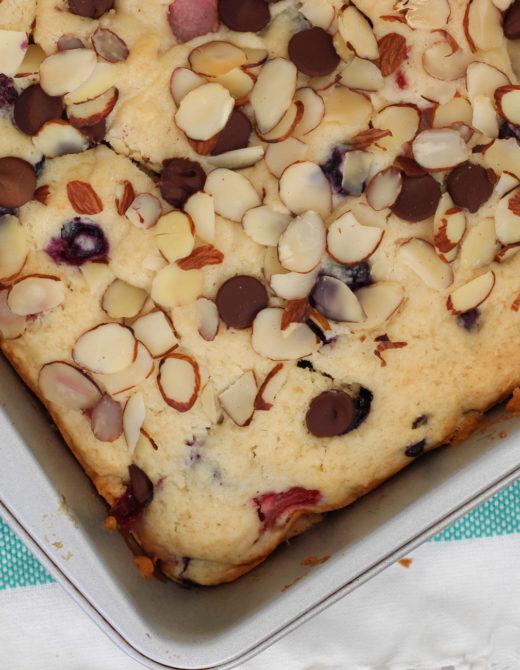Berry Breakfast Cake