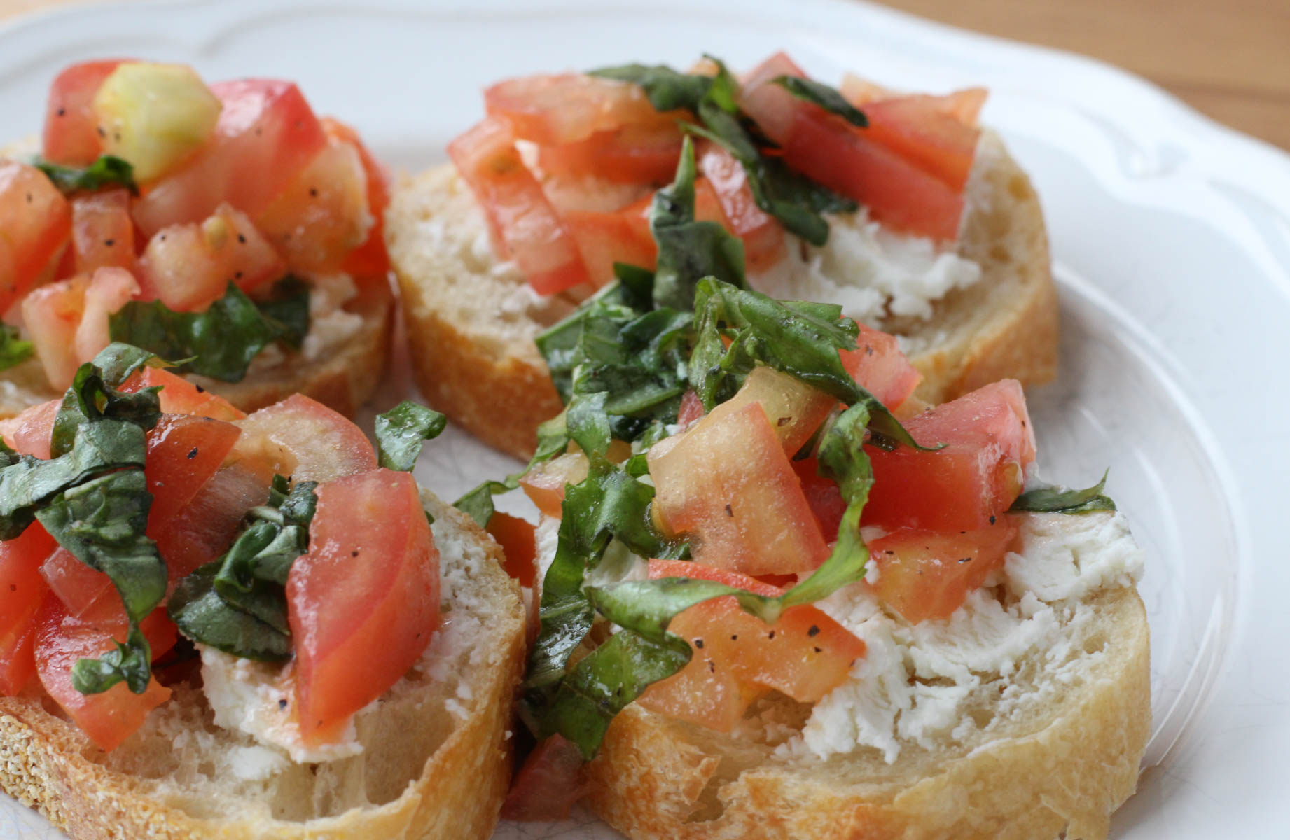 Goat Cheese Bruschetta recipe