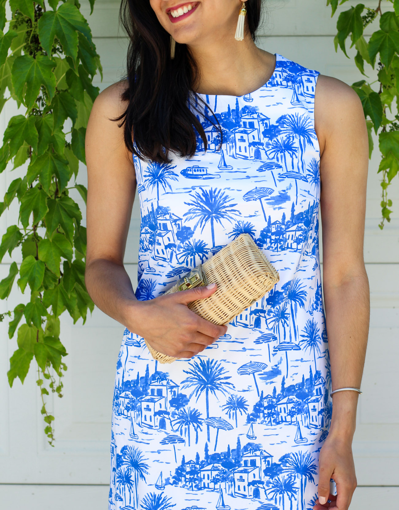 Toile summer dress