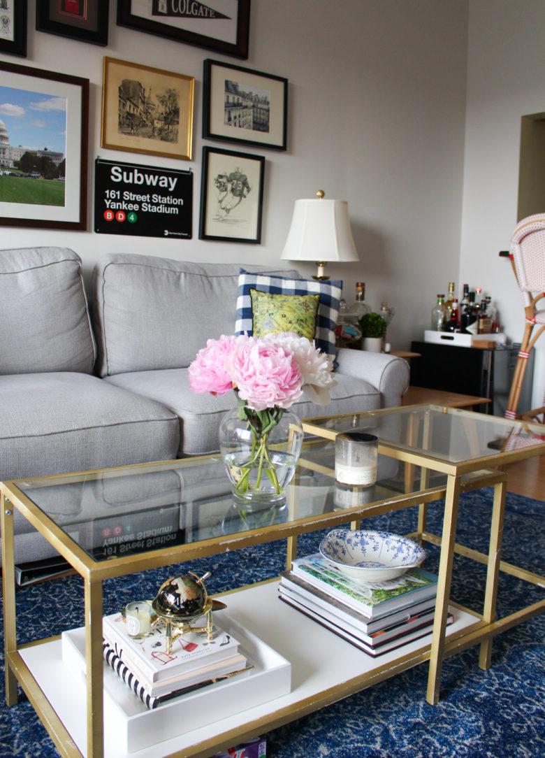Classic apartment decor