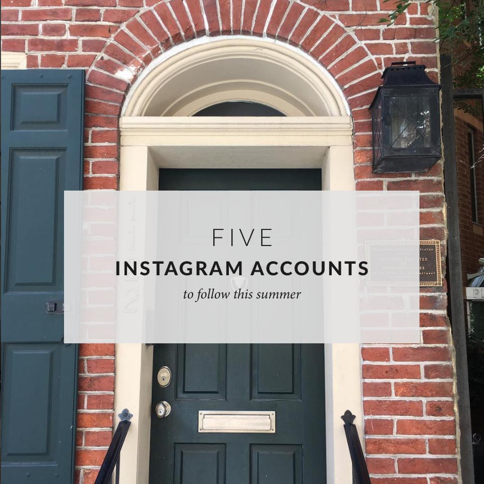 5 Instagram accounts to follow this summer