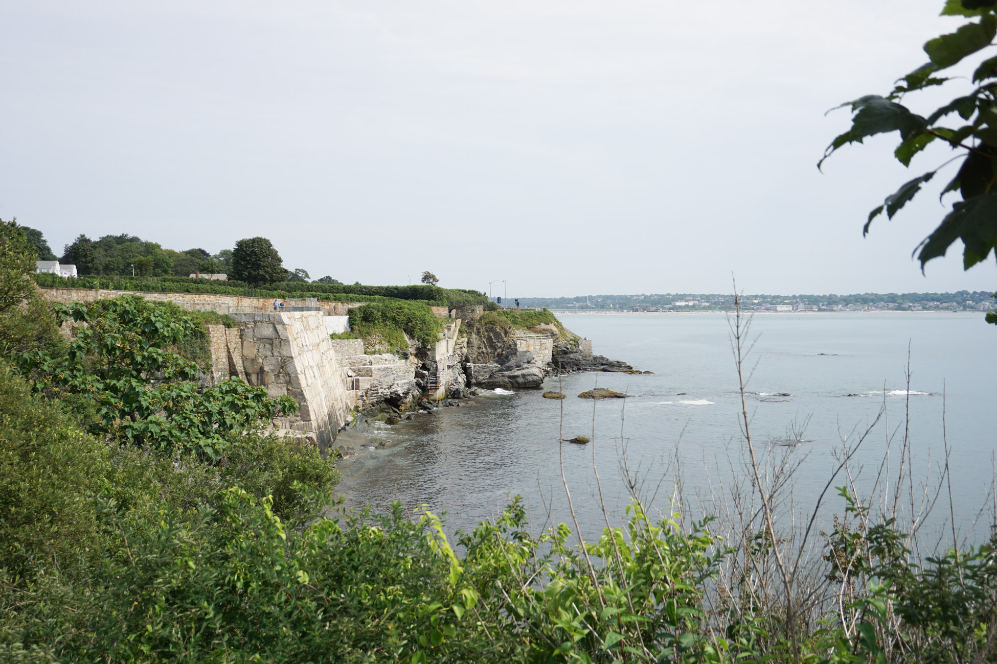 Newport Cliff Walk| Weekend in Newport, RI featured by top DC travel blogger, Monica Dutia