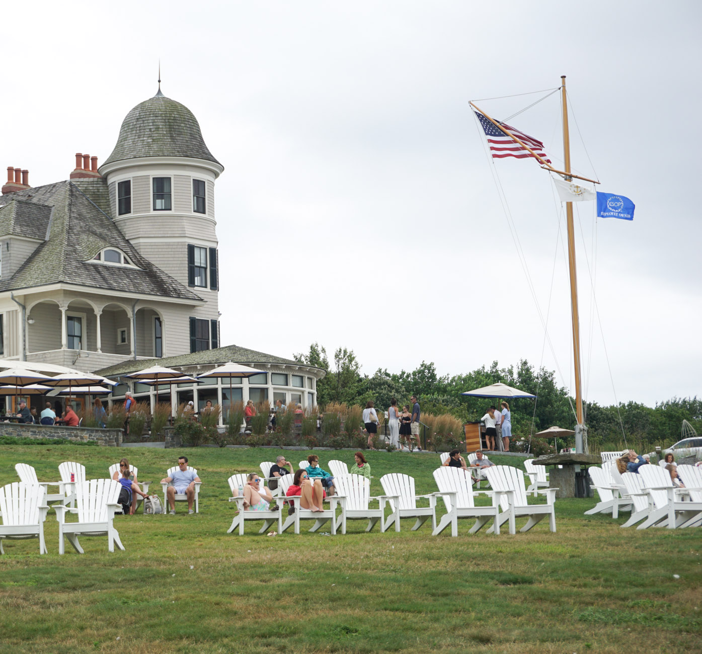 Castle Hill Inn, Newport| Weekend in Newport, RI featured by top DC travel blogger, Monica Dutia