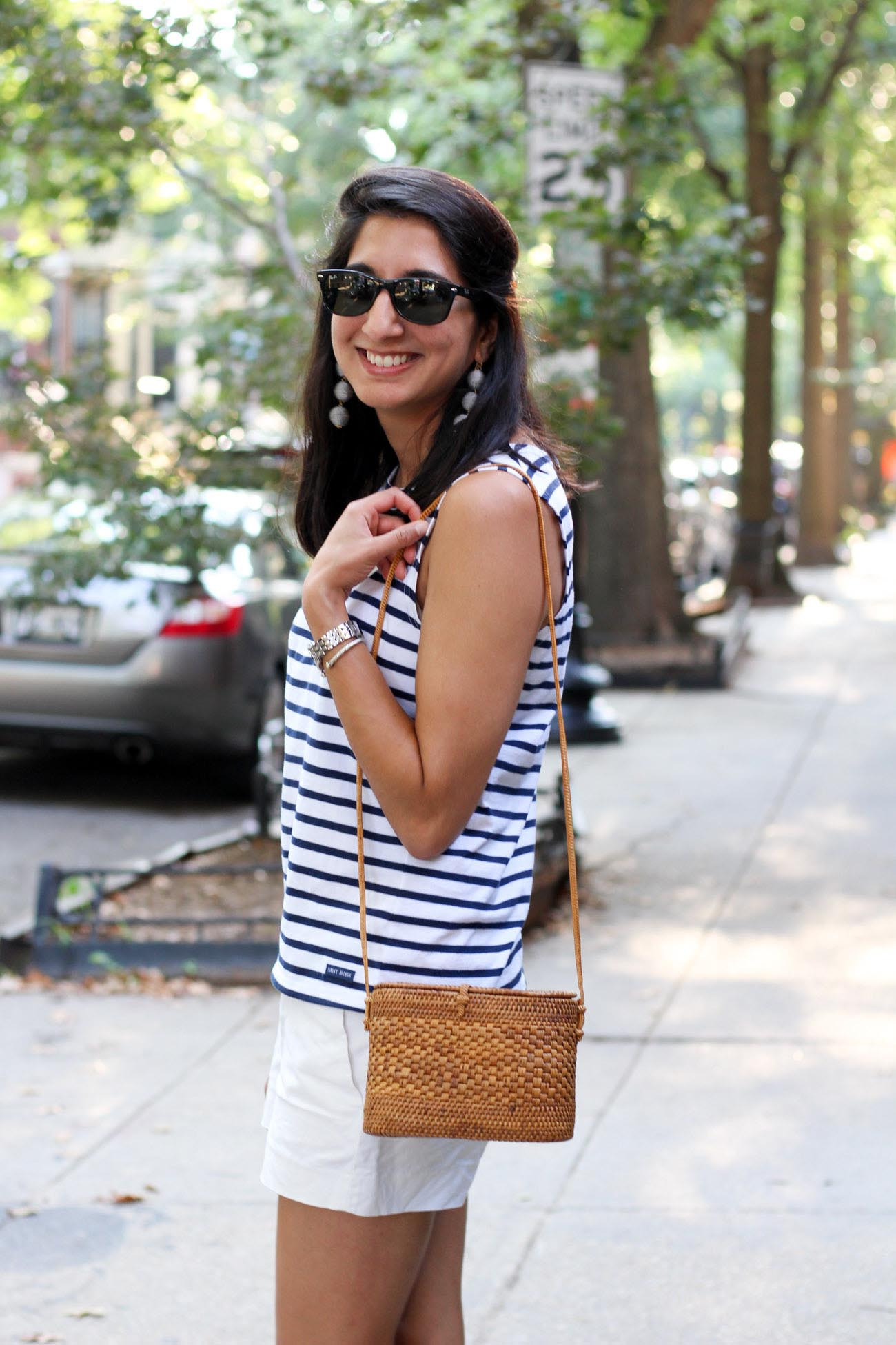 Saint James Striped Tank