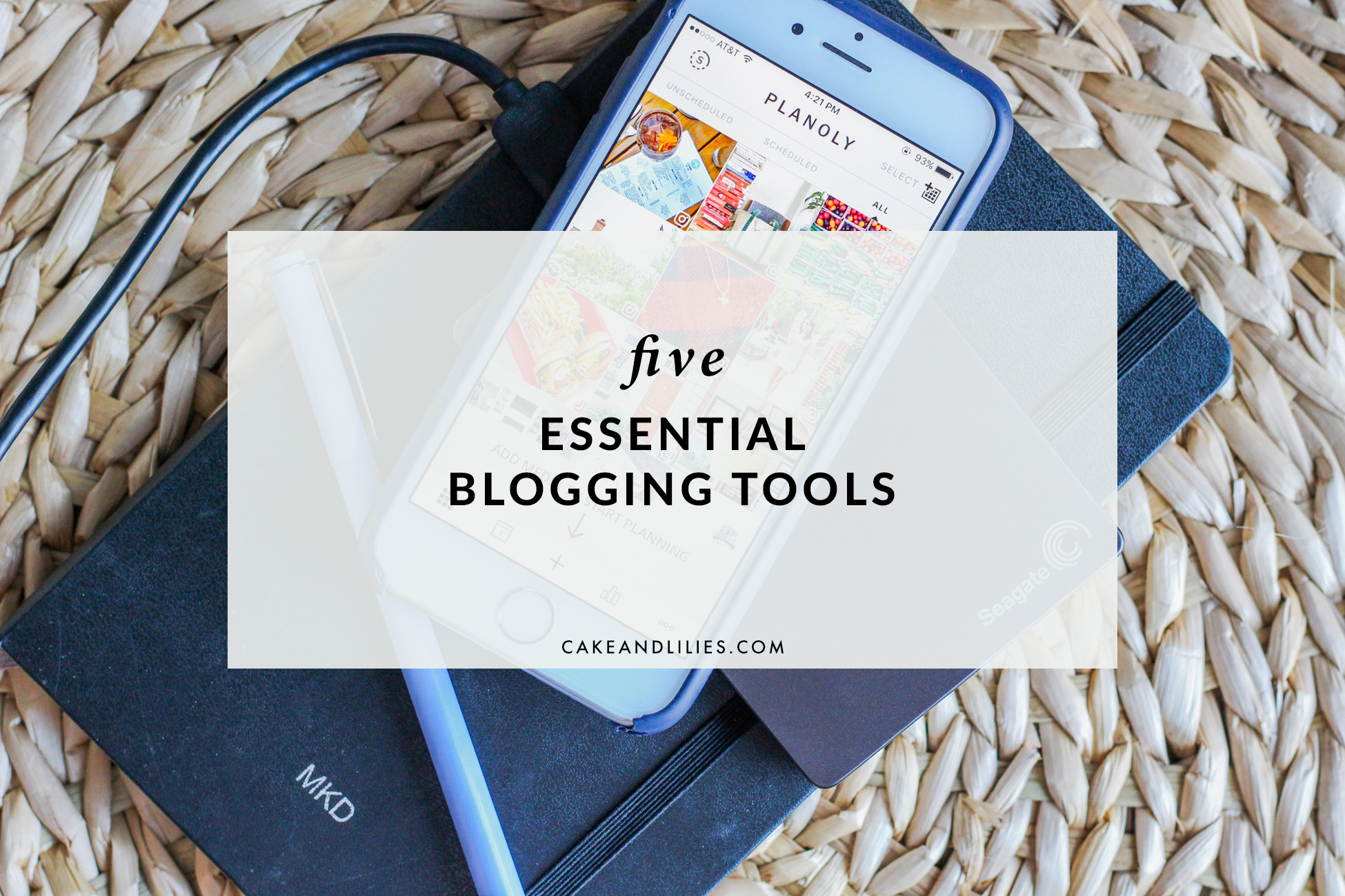 Five Essential Blogging Tools