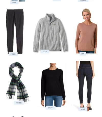 Easy Fall Wardrobe Essentials