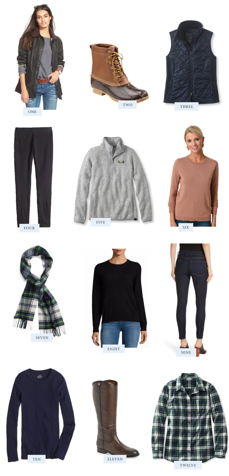 Easy Fall Wardrobe Essentials