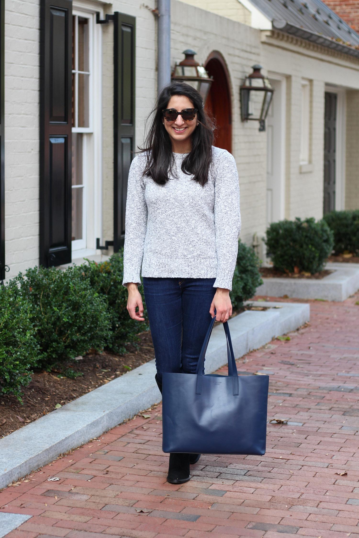 Aquatalia Giada Boots review featured by popular Washington DC style blogger, Monica Dutia
