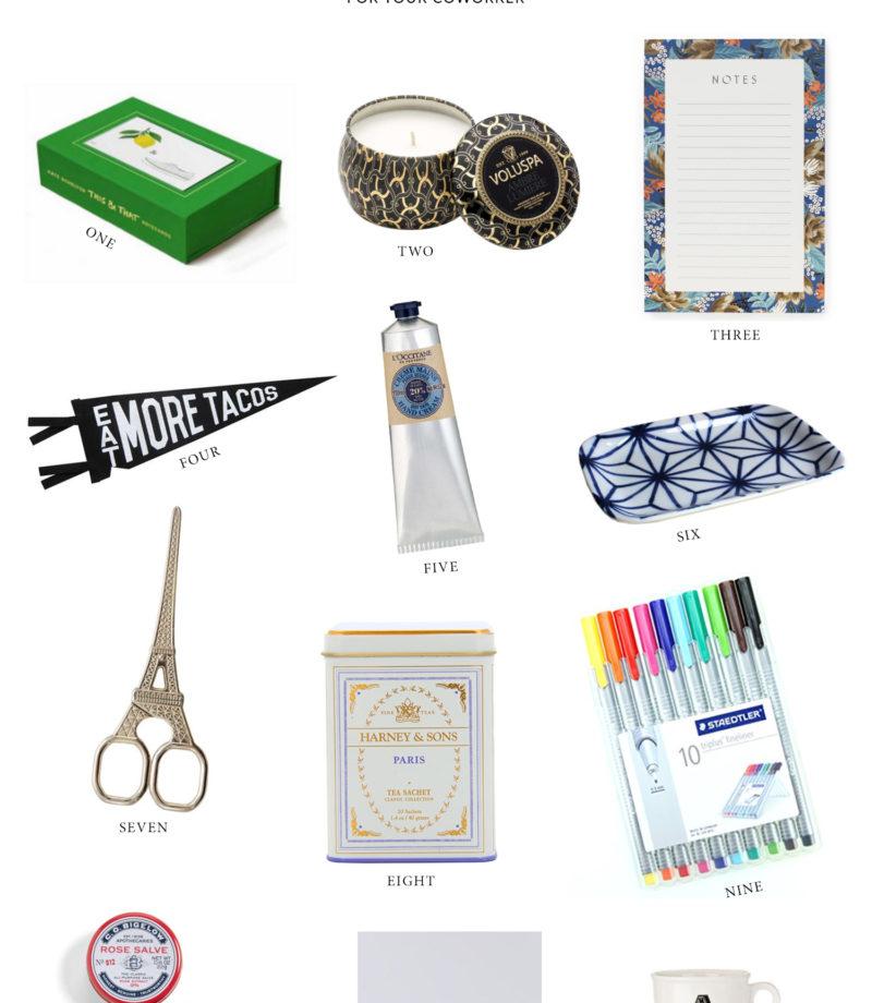 Coworker gift ideas