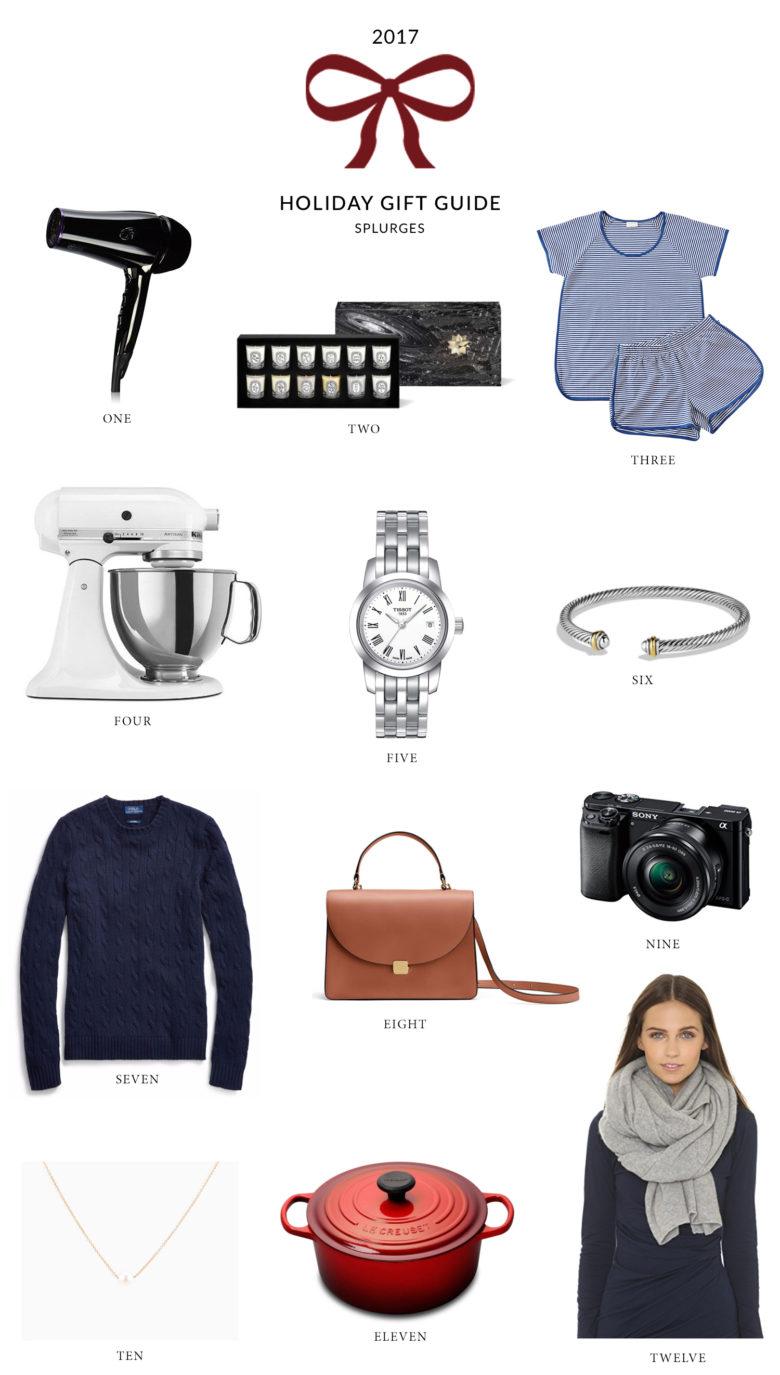 Gift ideas worth the splurge
