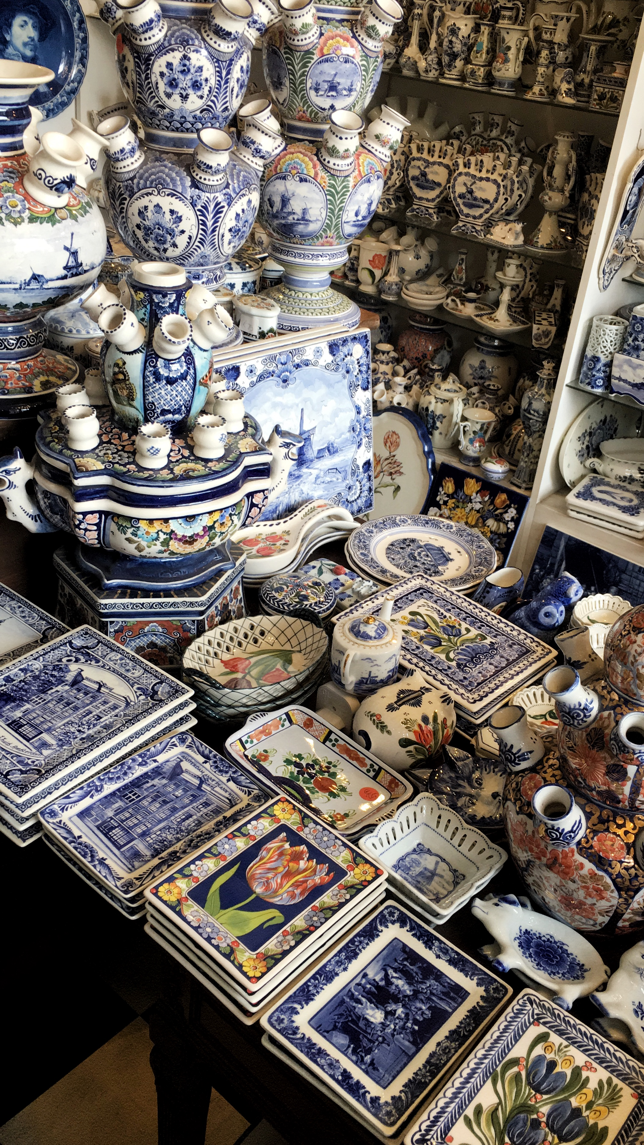Delft pottery - 3 days in Amsterdam featured by popular Washington DC travel blogger, Monica Dutia