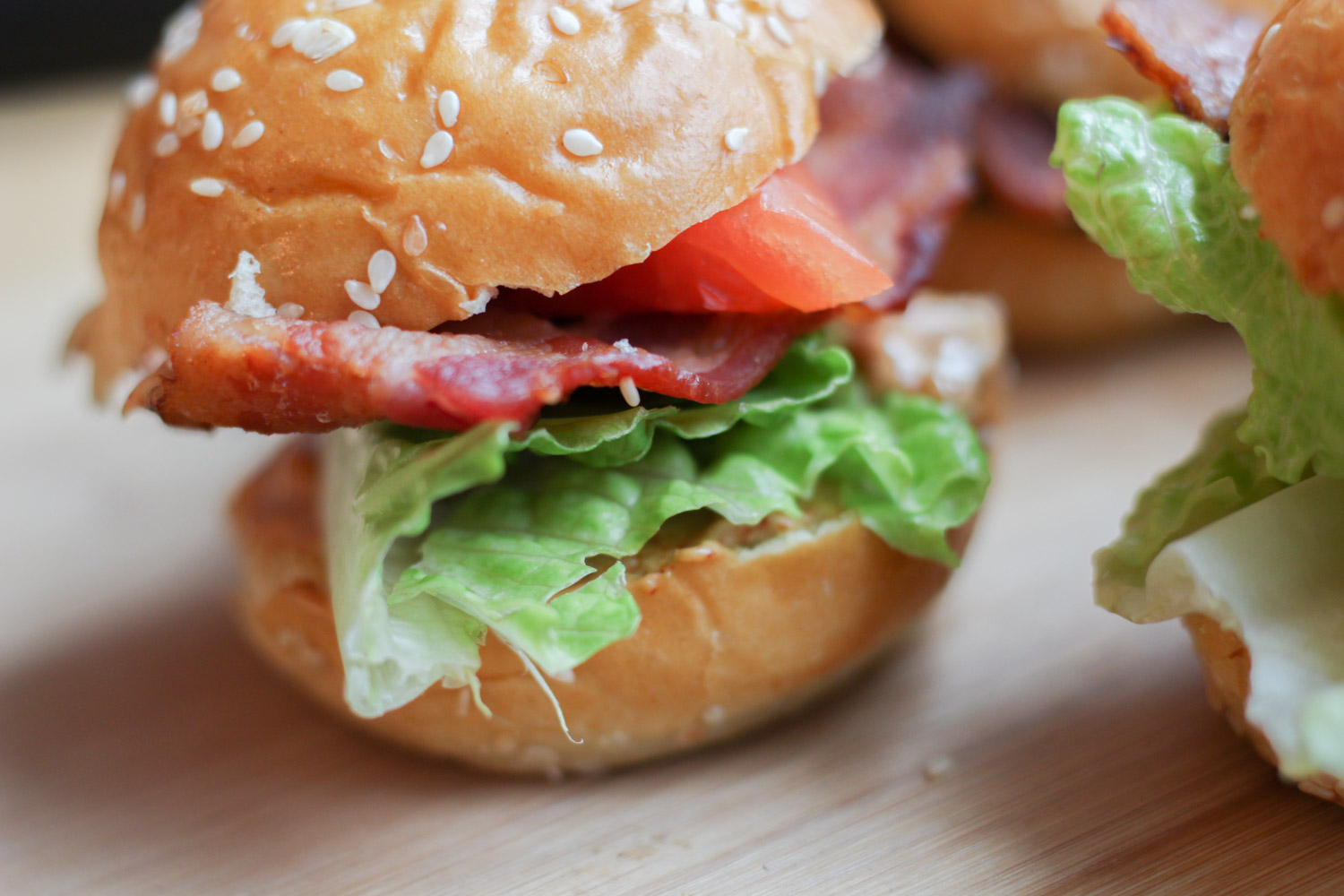 Mini Chipotle Mayo BLTs