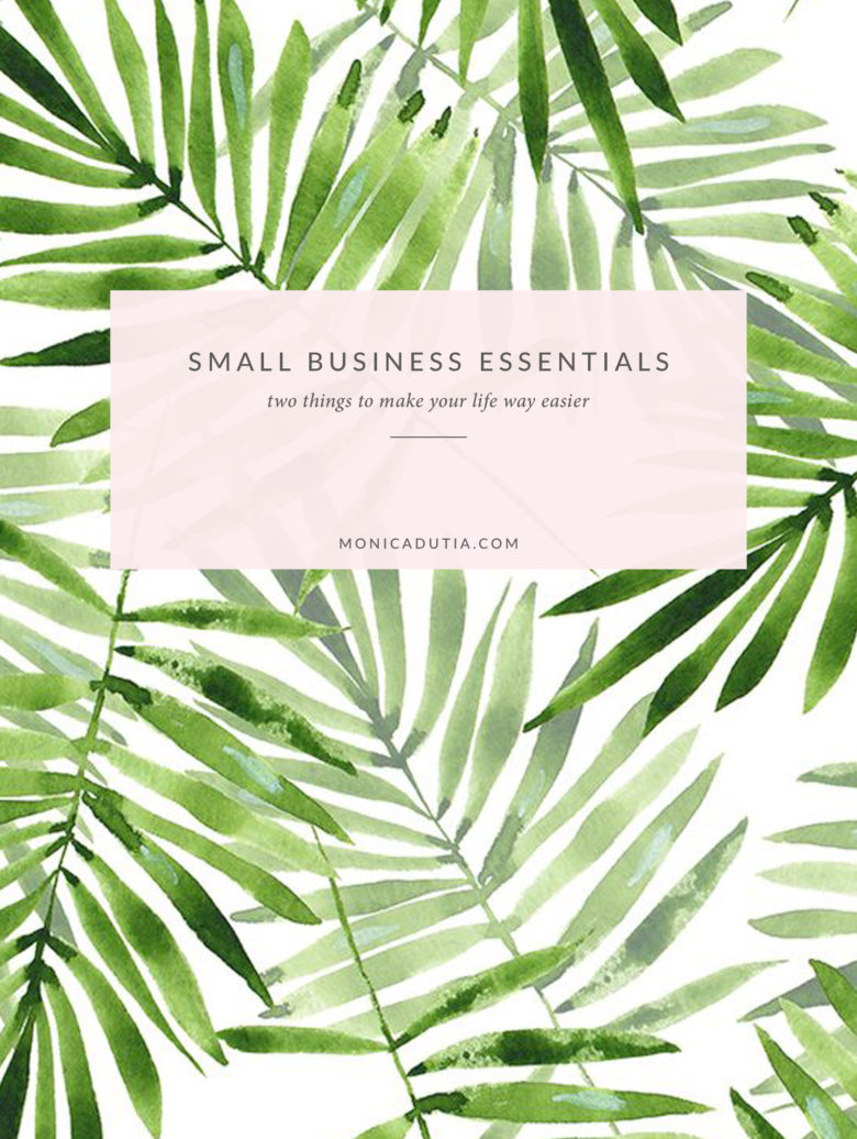 Two small business essentials