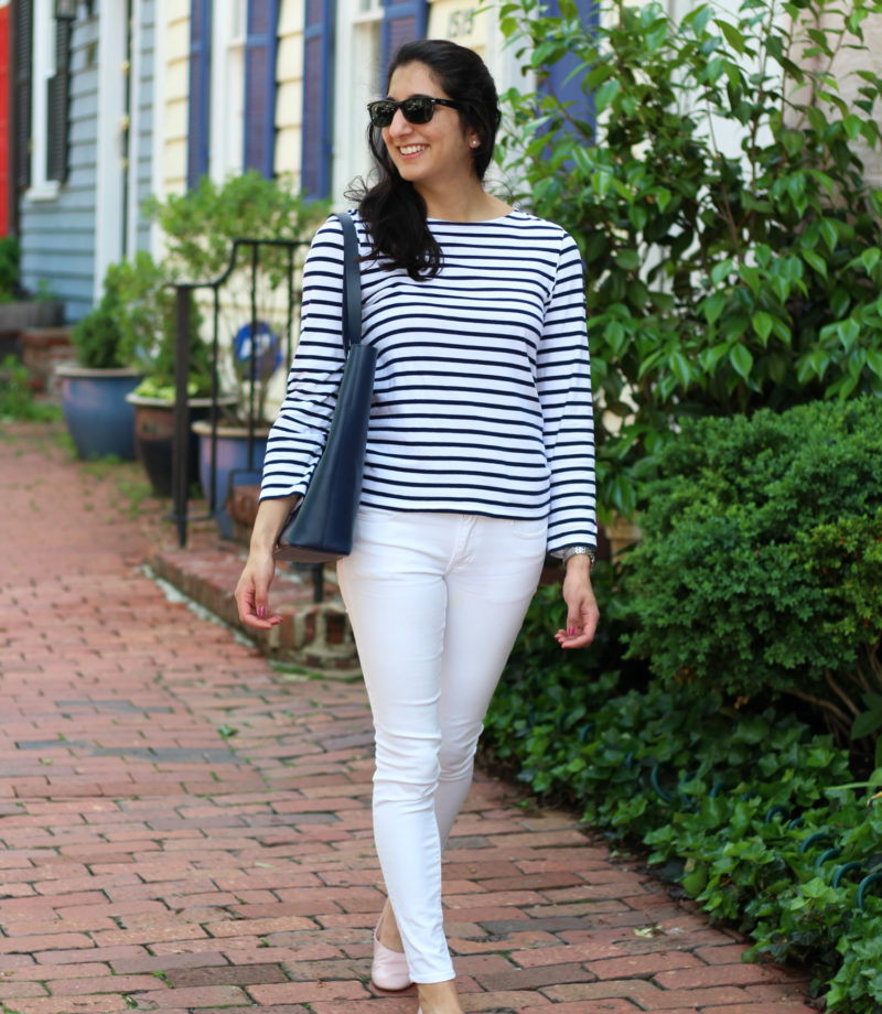 Casual style - Royal Wedding Thoughts + Comfy Leather Flats featured by DC Style Blogger, Monica Dutia