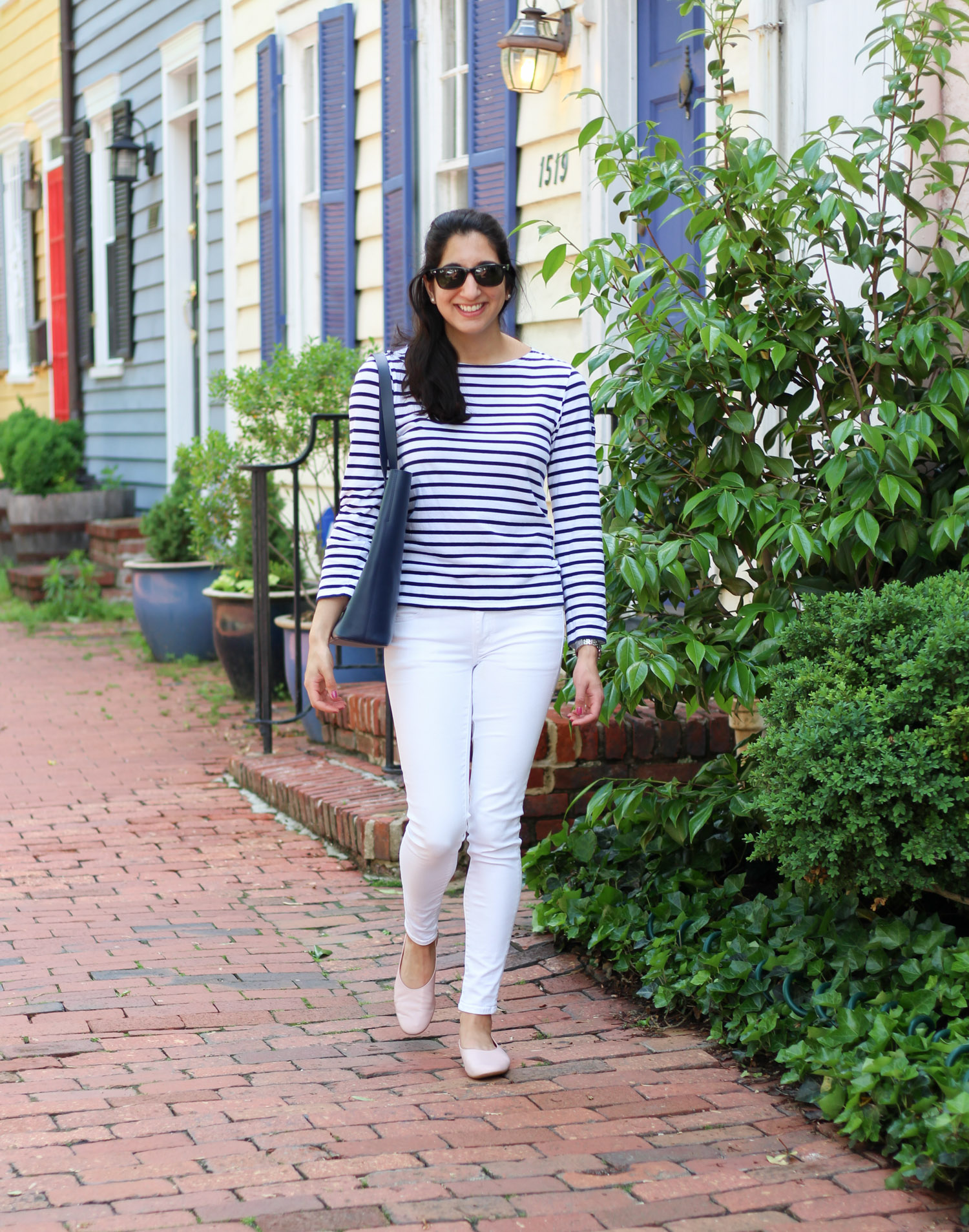 Royal Wedding Thoughts + Comfy Leather Flats featured by DC Style Blogger, Monica Dutia