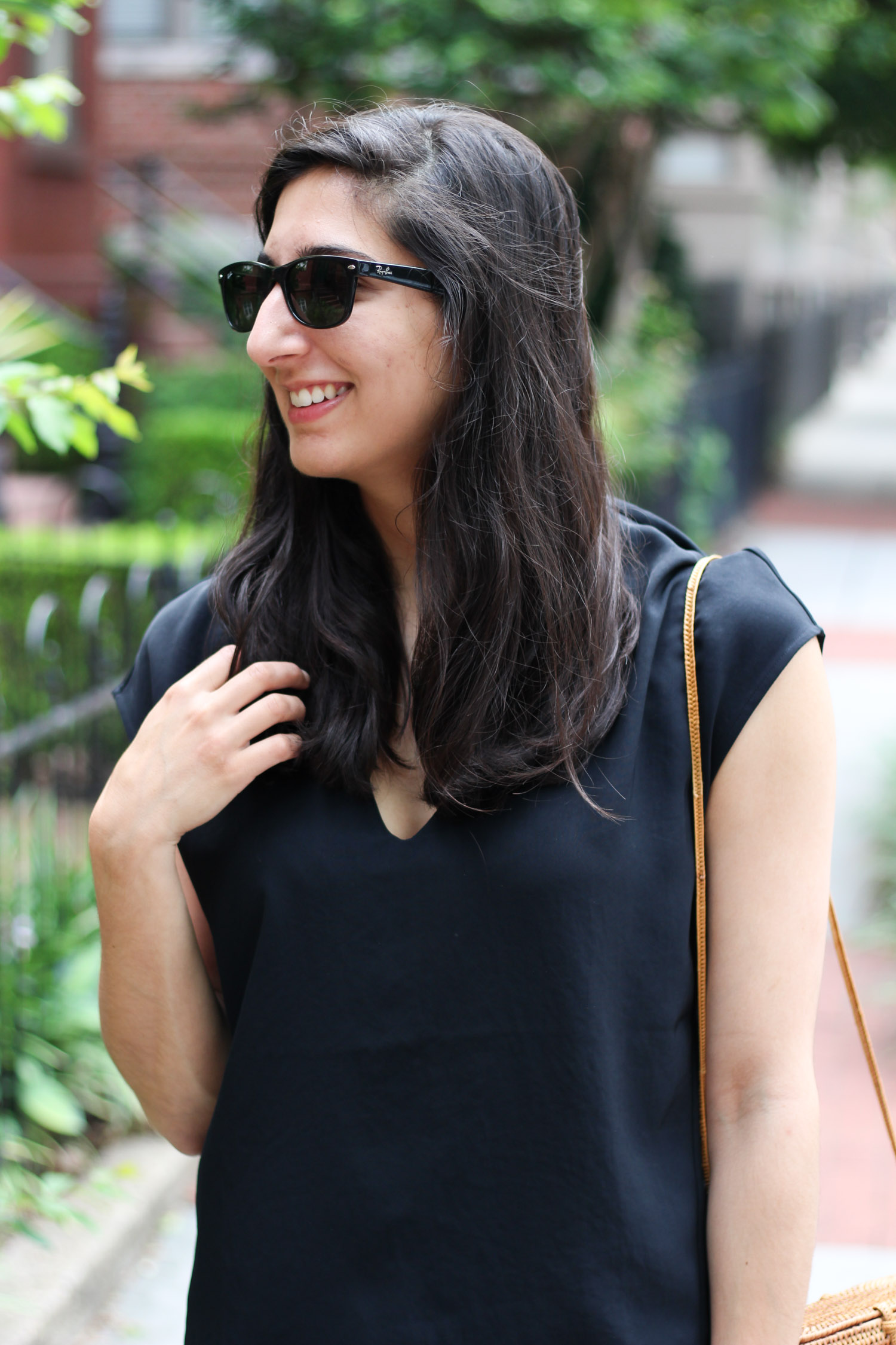 Everlane GoWeave Top - Summer Thoughts + Style featured by popular DC fashion blogger, Monica Dutia