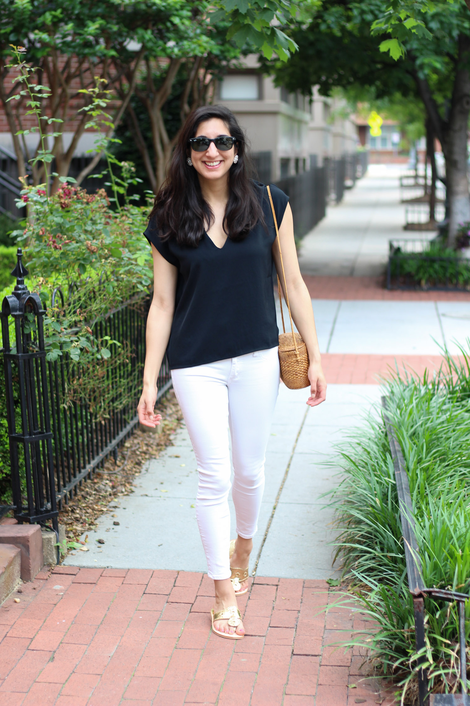 Summer style Everlane - Summer Thoughts + Style featured by popular DC fashion blogger, Monica Dutia