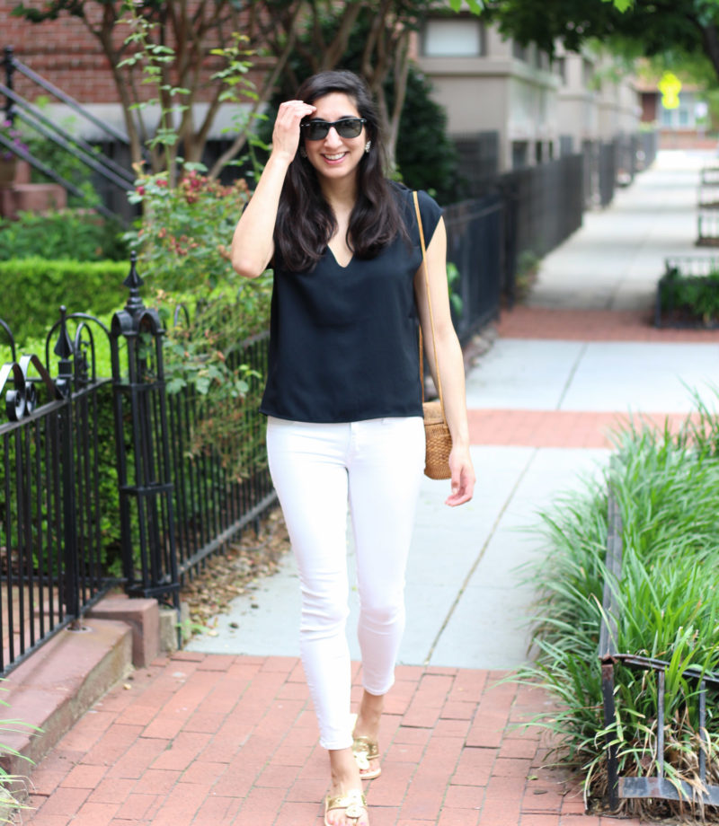 Everlane GoWeave - Summer Thoughts + Style featured by popular DC fashion blogger, Monica Dutia