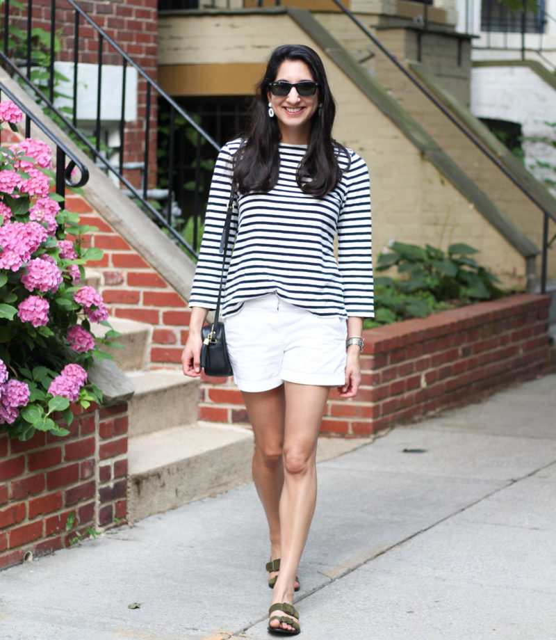 J.Crew summer stripes