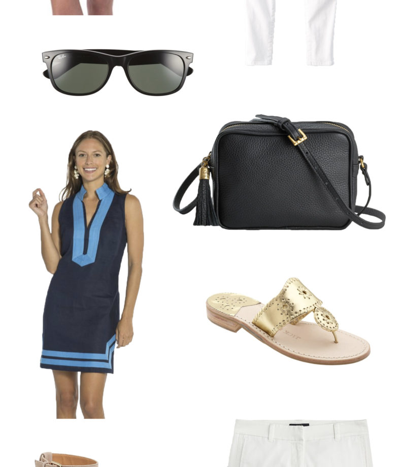 Classic wardrobe summer essentials featured by Washington DC fashion blogger, Monica Dutia