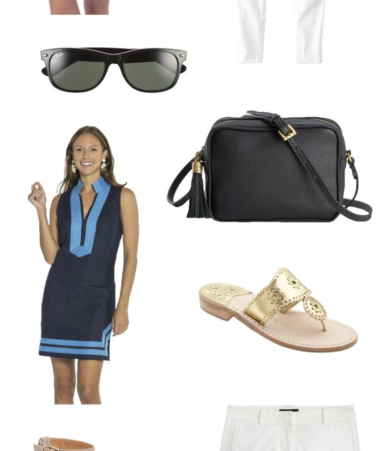 Classic wardrobe summer essentials featured by Washington DC fashion blogger, Monica Dutia