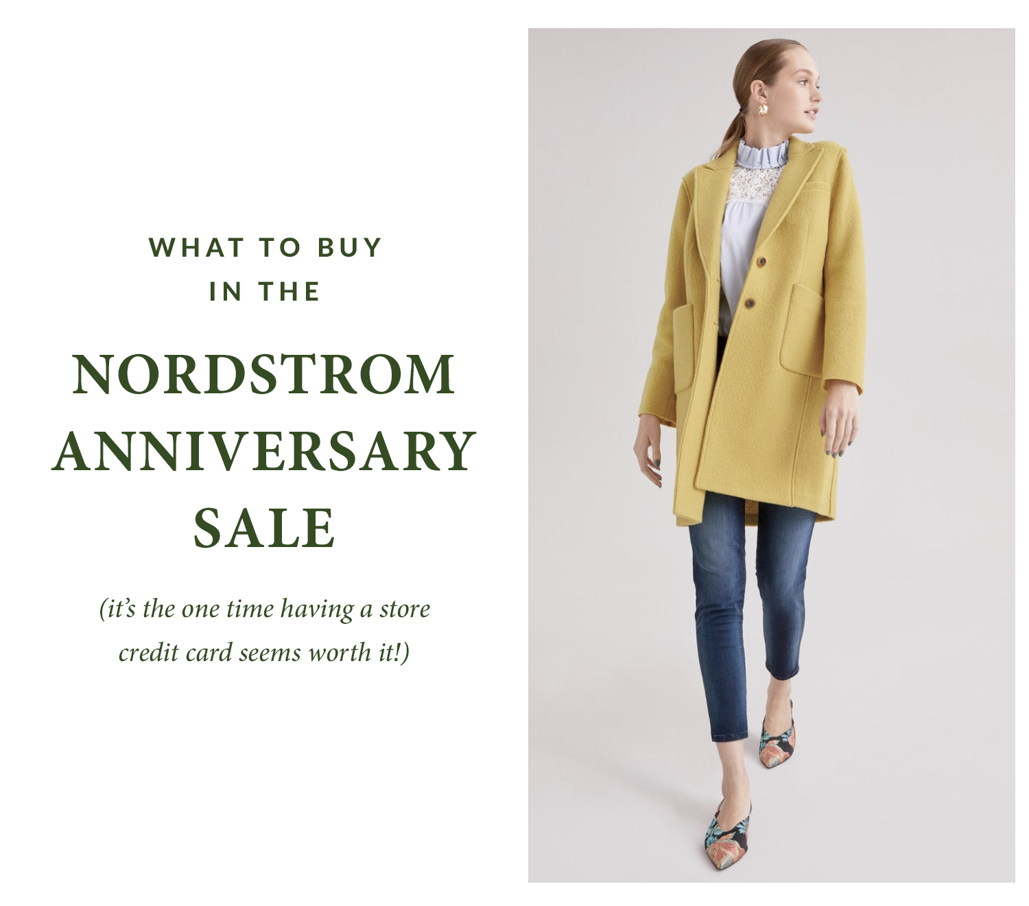 2018 Nordstrom Anniversary Sale top picks featured by popular DC fashion blogger, Monica Dutia