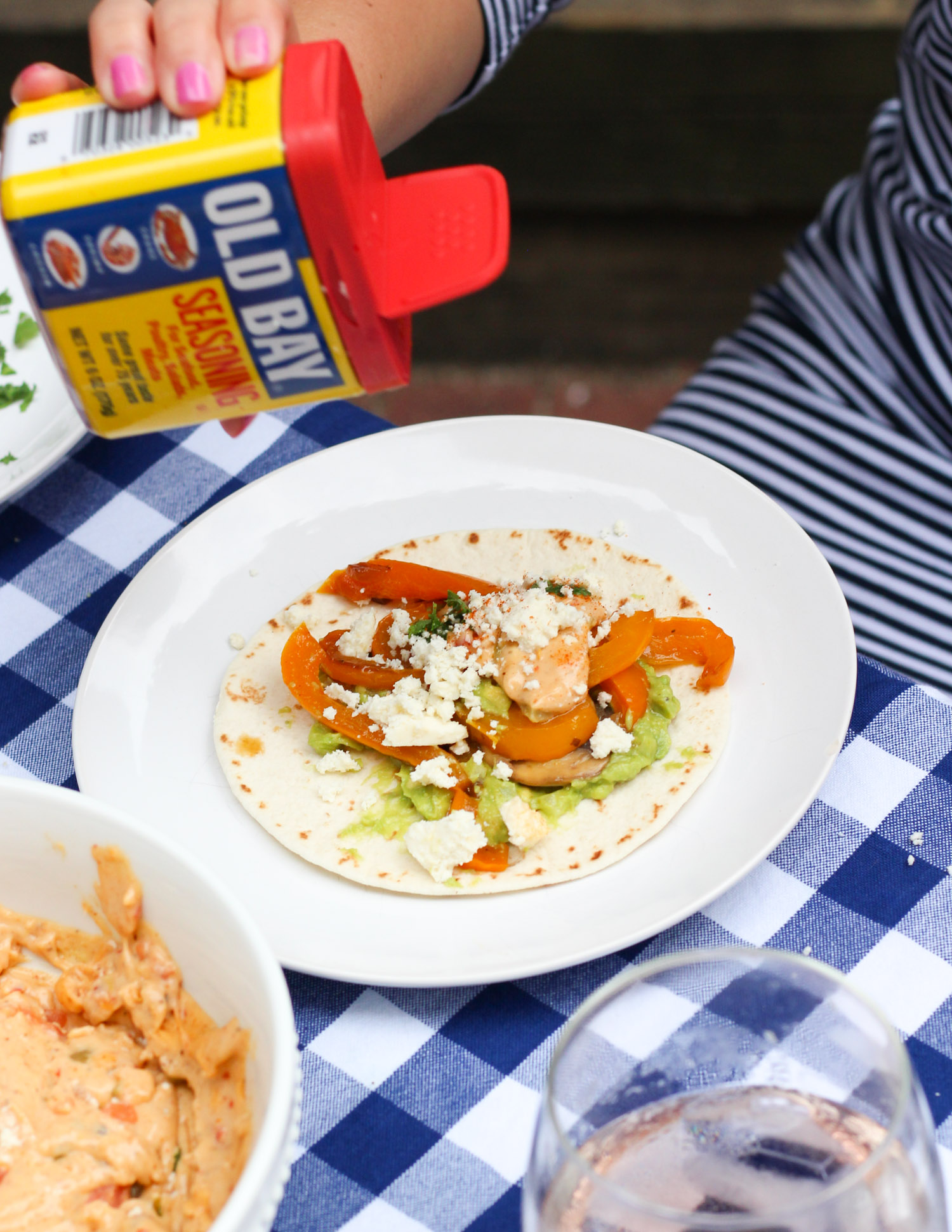 Super Easy OLD BAY Queso Recipe featured by popular DC lifestyle blogger, Monica Dutia