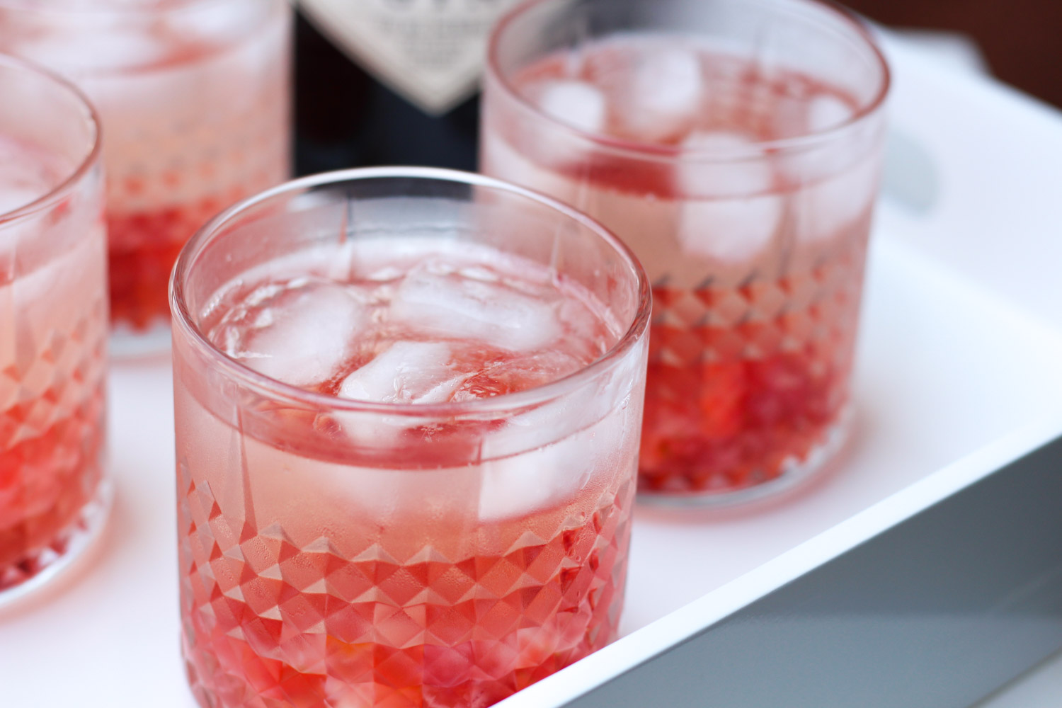 Rosé Gin Spritzer featured by popular DC lifestyle blogger Monica Dutia