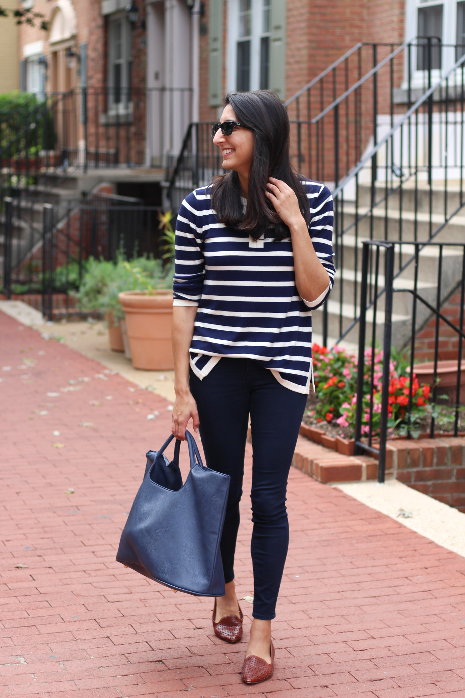 Casual fall outfit Duffield Lane