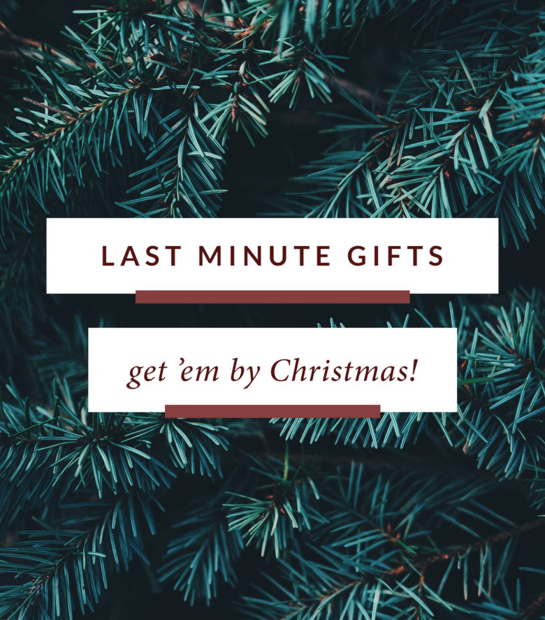 Last Minute Christmas Gift Ideas | Monica Dutia: The Blog