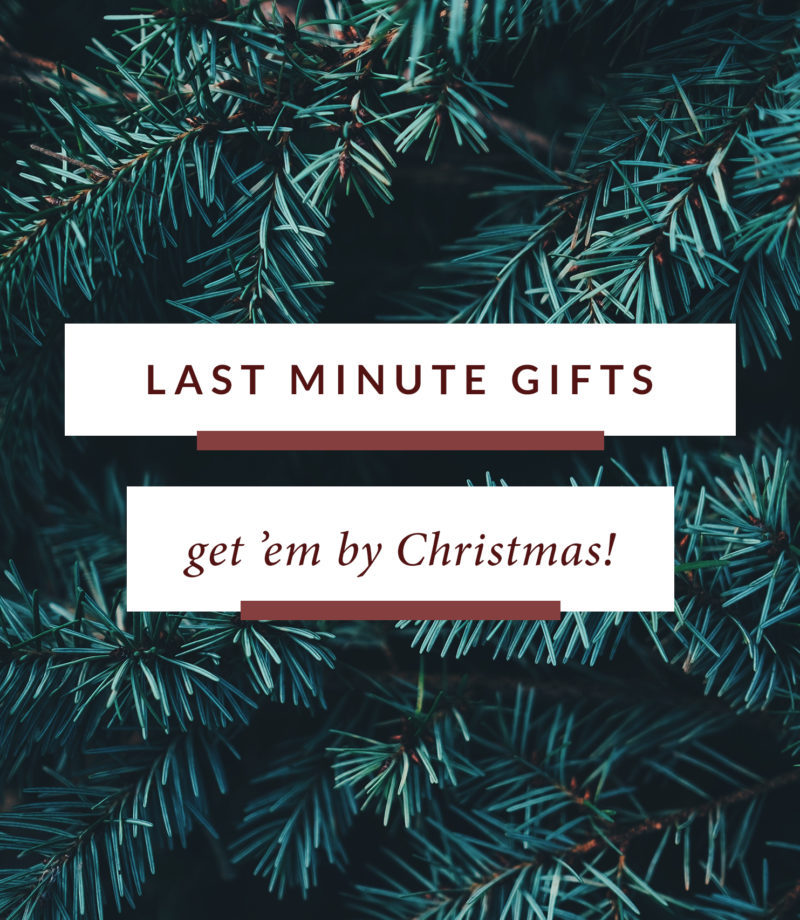 Last Minute Christmas Gift Ideas | Monica Dutia: The Blog