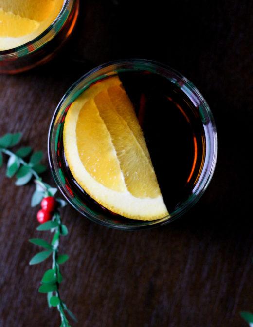 Maple Bourbon Pimm's recipe