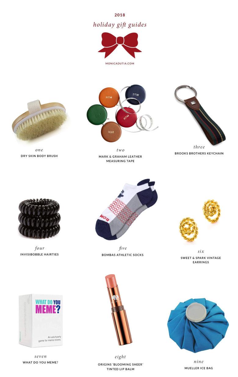 Top Stocking Stuffer Ideas | Monica Dutia: The Blog