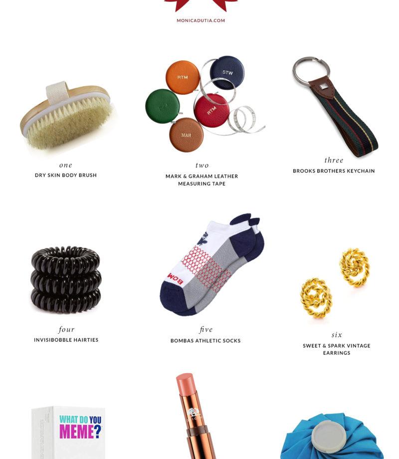 Top Stocking Stuffer Ideas   Monica Dutia: The Blog